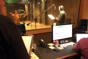 "Rick Russell, Eddie Swimmer, Merritt Youngdeer and Mark Malone record a humorous sketch called ""Murl the Squirrel""."