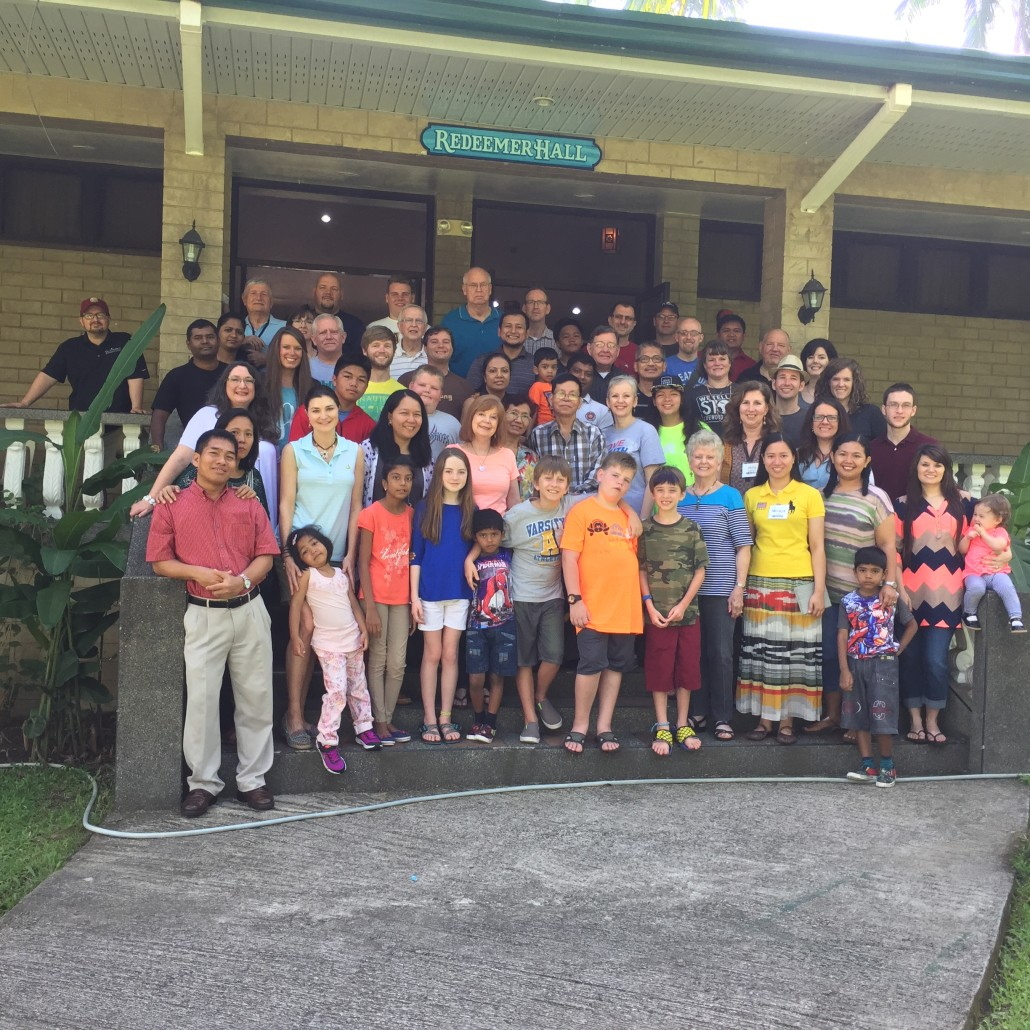 2016 Asia Pacific Missionary Care Conference attendees pose for a picture on the last day.